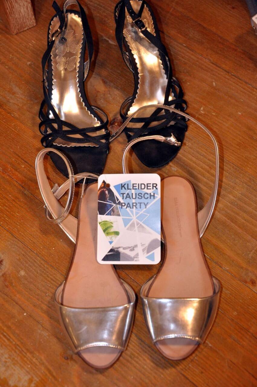 Kleidertauschparty Schuhe (c)C. Deckelmann